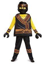 New Lego The Ninjago Movie Cole Child Costume Large 10-12