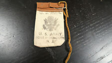 WWII US Home Front Souvenir US Mail Fort Monmouth NJ