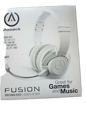 FUSION Xbox One, PS4, Switch & PC Wired Headset - White