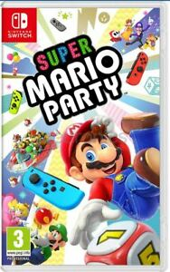 Super Mario Party - Nintendo Switch [Region Free party Local Multiplayer] New