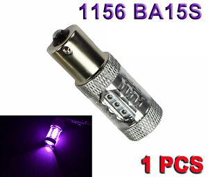 1156 BA15S 7506 3497 P21W High Power Purple 80w LED Rear Turn Signal Y1 Euro