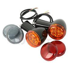 Amber LED Turn Signals Lights Bracket For Harley Sportster XL 883 1200 1992-2017