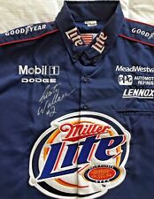 Rusty Wallace Signed Authentic Miller Lite Jersey - NASCAR - COA - Daytona 500
