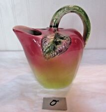Vintage Apple Pitcher Made in Italy