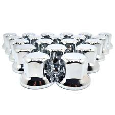 100 CHROME PLASTIQUE ECROU DE ROUE BOULONS-CACHE 32MM CAMION MAN DAF IVECO D75