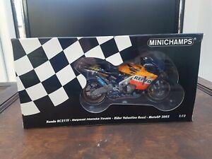 Minichamps 1.12 Honda Rc211v Repsol Honda Team Rider Valentino Rossi Motogp 2002