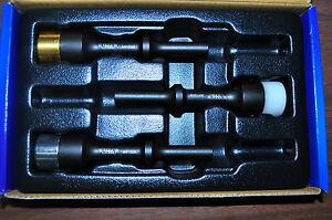 Soft Tip Air Hammers 3 Pc -Aluminum ,Brass and  Nylon Hammer, .401 Shank VIM