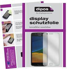 6x Motorola Moto G5 Plus Schutzfolie klar Displayschutzfolie Folie dipos