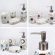 Abstract Ceramic Bath Accessory Sets