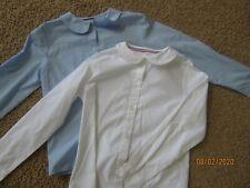 Euc Lot of 2 French Toast Girls School Uniform Button Up Shirt Size 12