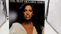 The Best Of Carly Simon LP Vinyl Record Album 7E-1048 Elektra 1975 VG+ cVG+