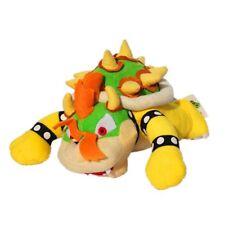 Super Mario Bros King Bowser Koopa Soft Plush Stuffed Doll Toy 10 inch Kids Gift