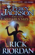 Percy Jackson and the Last Olympian by Rick Riordan [Paperback]