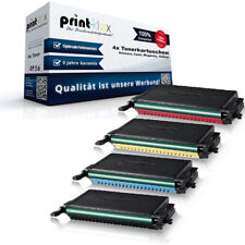 4x Printer Tonerkartuschen für Samsung CLP 660 N K660 C660 M660 Y660 A ELS