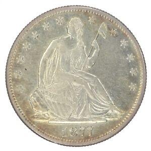 1877-S Seated Liberty Half Dollar VF Very Fine JO/1308