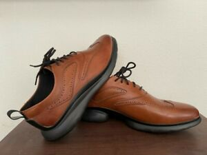 COLE HAAN MENS 3.ZEROGRAND LEATHER OXFORDS 10.5 W