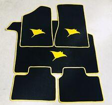 Autoteppich Kofferraummatte Set für Opel Manta B Rochen sw gelb Neuware 5teilig