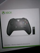 Microsoft Xbox One Controller with Bluetooth Wireless Adapter for Windows 10