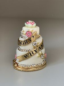 """Juicy Couture """"Cake"""" Charm, RARE, RETIRED 2005 Collectable ✨"""