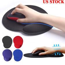 Mouse Pad Wrist Rest Support Ergonomic Comfort Mat Non Slip PC Laptop Computer ~