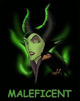 Maleficent # 11 - 8 x 10 - T Shirt Iron On Transfer
