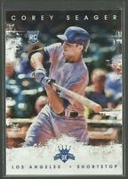 Corey Seager RC 2016 Diamond Kings SP Variation Rookie Card # 142 LA Dodgers