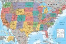 Usa Karte Gunstig Kaufen Ebay
