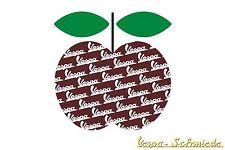 "Aufkleber ""Chi VESPA mangia le mele / Apfel 19"" - Sticker Apple Dekor Beinschild"
