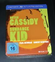 BUTCH CASSIDY AND THE SUNDANCE KID LIMITIERTE NOVOBOX / STEELBOOK BLU RAY NEU