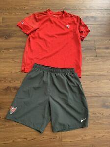 Nike L Tampa Bay Buccaneers Men's Training Shirt And Shorts Brady Gronk