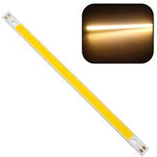 1x High Power 10W 1000LM COB LED Strip Light Lamps Warm White 20*1CM 12 - 14V