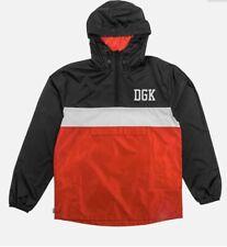 DGK Mens Hitter Custom Long Sleeve Jacket Gold Yellow