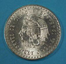 1948 Mexico 5 Peso - Silver - Unc