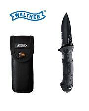 Walther btk2 Black TAC 2 cuchillo incl. estuche cinturón nuevo embalaje original