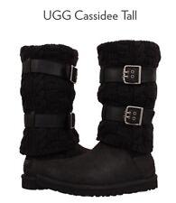 NIB UGG Australia Cassidee Tall Black Boots Size 5 Woman's 3.5 Kids