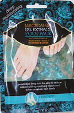 2 x Treatment Deep Moisturising Foot Pack with Macadamia Oil Extract