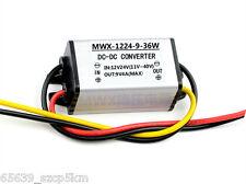 12V/24V to 9V 4A DC/DC Power Converter Regulator Module Step Down Adapter