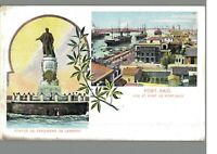 Port Said :: Egypt : Vintage Postcard