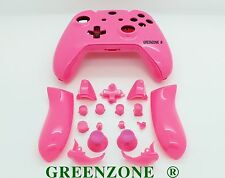Pink Solid Xbox One Controller Full Replacement Shell Mod Kit and Buttons