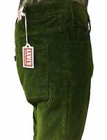 LEVI'S VINTAGE CLOTHING pantalone uomo velluto verde mod 30081-0007 STAPREST