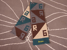 "Robert Graham Men's Cashmere Angora Wool Blend Scarf 72"" x 6"""