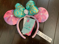 Minnie Mouse The Main Attraction Its a Small World April Headband Ears - IN HAND