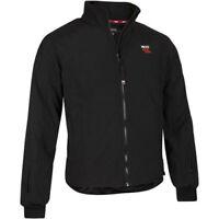 Keis X25/J103 Motorcycle Heated Black Jacket + Free Heavy Duty Controller