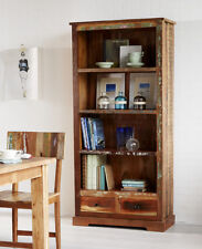 Large Bookcase with 2 Drawers Reclaim Range made from Recycled Hardwood CS18