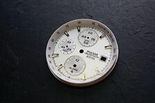 Reloj Pulsar Cronógrafo Dial - 100m Blanco y Dorado #3