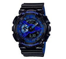 Casio G Shock *GA110LPA-1A Punching Pattern Gloss Black COD PayPal #crzyj