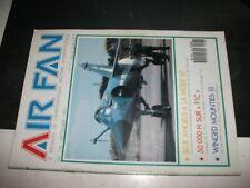 **Fr Revue Air Fan n°106 Aéronefs police montée canadienne - Mirage F1C