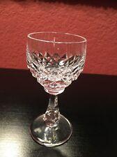 "Crystal Liquer Sherry Cordial Glass Peill & Putzler PEI24 6"" Germany Rare"