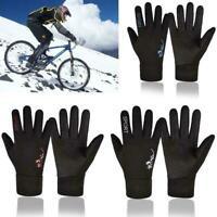 Winter Unisex Windproof Waterproof Outdoor Sport Gloves Velvet Gloves Plus E8Z1