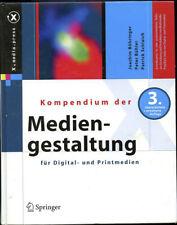 Kompendium der Mediengestaltung Digital/Print 3. Auflage Fachliteratur